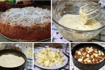 Потрясающе простой и вкусный яблочный пирог «Домашний»