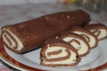 Вкуснее ЭТОГО рулета «Mинутка» из печенья я не пробовала!