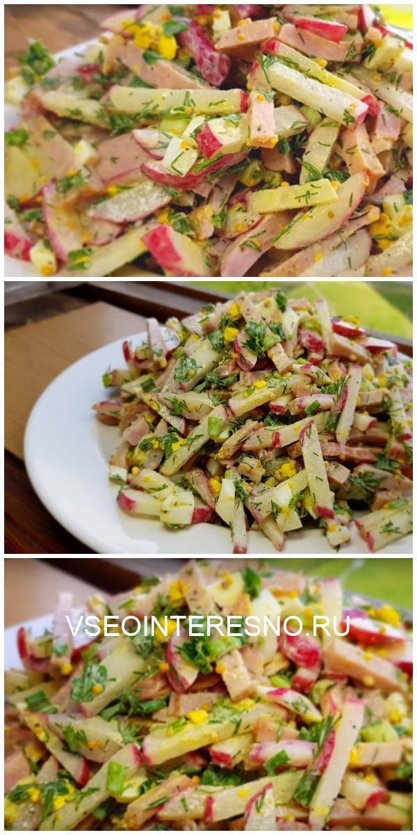 Необычный салат «Пятиминутка», которы станет настоящим деликатесом на вашем столе
