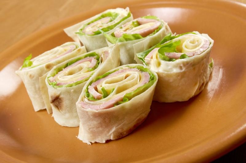 healthy-club-sandwich-pita-bread-roll