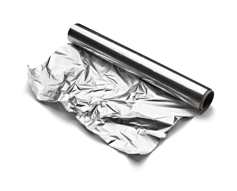 close-up-of-aa-aluminum-foil-on-white-background-with-clipping-path