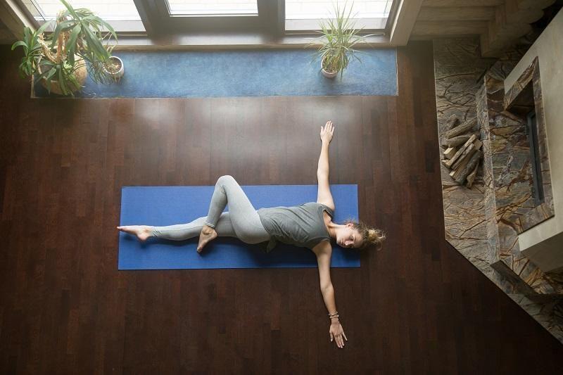 yoga-at-home-revolved-abdomen-pose