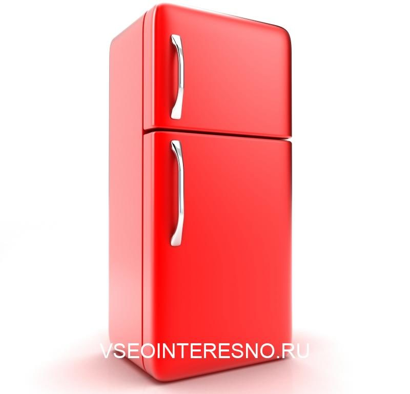 illustration-of-a-new-fridge-on-a-white-background